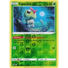 Caterpie - 001/192 - Reverse Holo  (Rebel Clash)