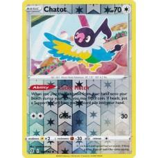 Chatot - 142/192 - Reverse Holo  (Rebel Clash)