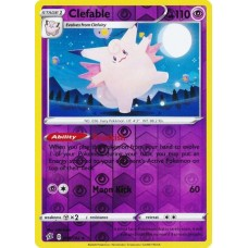 Clefable - 075/192 - Reverse Holo  (Rebel Clash)