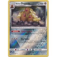 Alolan Dugtrio - 87/149 (Sun & Moon Base Set) - Reverse Holo