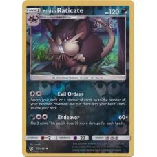 Alolan Raticate - 77/149 (Sun & Moon Base Set) - Reverse Holo