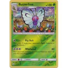 Butterfree - 3/149 (Sun & Moon Base Set) - Reverse Holo