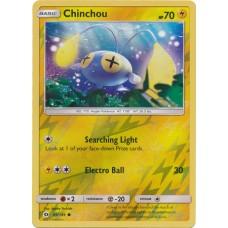Chinchou - 49/149 (Sun & Moon Base Set) - Reverse Holo