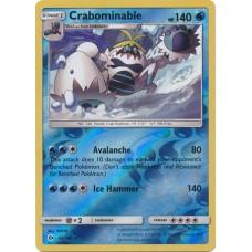 Crabominable - 43/149 (Sun & Moon Base Set) - Reverse Holo