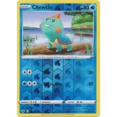 Chewtle - 060/202 - Reverse Holo (Sword & Shield Base Set)