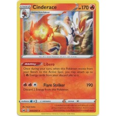 Cinderace - 034/202 - Holo (Sword & Shield Base Set)