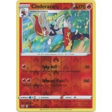 Cinderace - 035/202 - Reverse Holo (Sword & Shield Base Set)