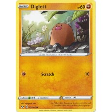 Diglett - 092/202 (Sword & Shield Base Set)