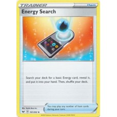 Energy Search - 161/202 (Sword & Shield Base Set)