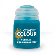 Akhelian Green - kontrast