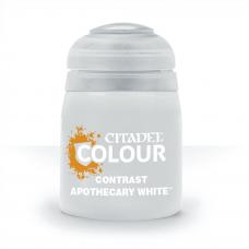 Apothecary White - kontrast