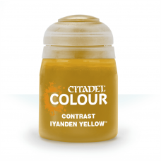 Iyanden Yellow - kontrast