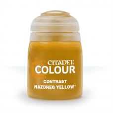 Nazdreg Yellow - kontrast