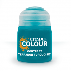 Terradon Turquoise - kontrast