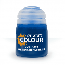 Ultramarines Blue - kontrast