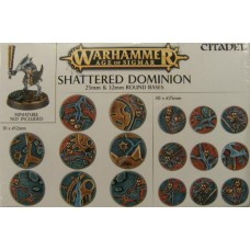 Age of Sigmar: Shattered Dominion: 25 & 32MM Round Bases
