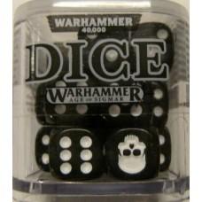 Citadel Dice Cube - Black