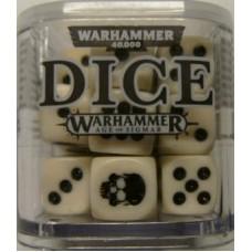 Citadel Dice Cube - White