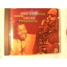 Ben Webster Meets Oscar Peterson (CD)