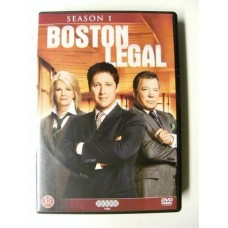 Boston Legal Sesong 1 (DVD)