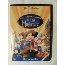 De Tre Musketerer (DVD)
