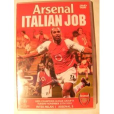 Arsenal: Italian Job (DVD)
