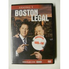 Boston Legal Sesong 5 (DVD)
