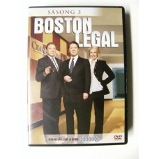 Boston Legal Sesong 3 (DVD)