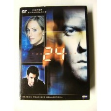 24 Sesong 4 (DVD)