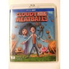 Det Regner Kjøttboller 3D (Blu-ray)
