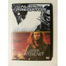 Alien vs Predator + Braveheart (DVD)