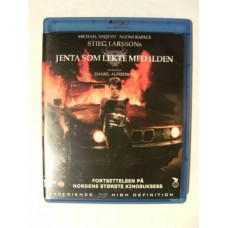 Jenta Som Lekte Med Ilden (Blu-ray)