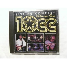 10 CC - Live In Concert Volume One (CD)