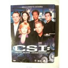 CSI Sesong 1 (DVD)