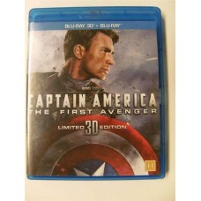 Captain America: The First Avenger 3D (Blu-ray)
