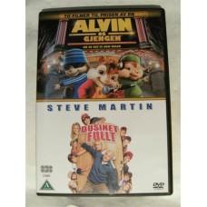 Alvin og Gjengen + Dusinet Fullt (DVD)