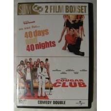 40 Dager og 40 Netter + Cougar Club (DVD)