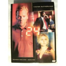24 Sesong 1 (DVD)