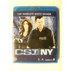 CSI NY Sesong 6 (Blu-ray)