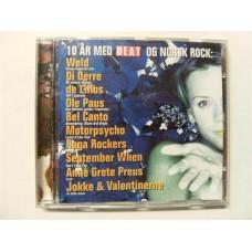 10 År Med Beat Og Norsk Rock (CD)