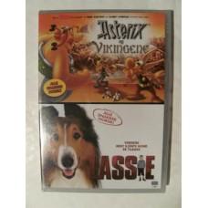 Asterix og Vikingene/Lassie (DVD)