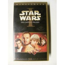 Star Wars I: Den Skjulte Trussel (VHS)