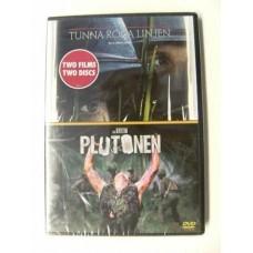 Den Tynne Røde Linjen + Platoon (DVD)