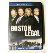 Boston Legal Sesong 4 (DVD)