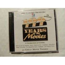 BBC Concert Orchestra - 100 Years At The Movies (2-CD)