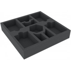 Foam tray for board games - 9 compartments