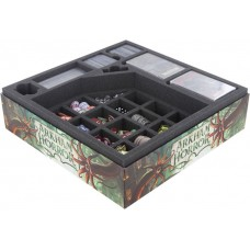 Feldherr foam tray set for Arkham Horror 3rd Edition board game box
