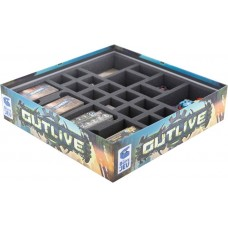 Foam set for Outlive - board game box