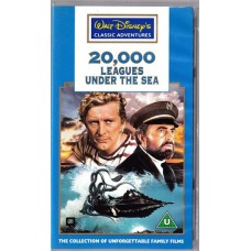 20,000 Leagues Under The Sea (VHS)
