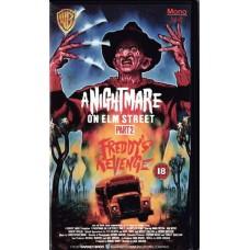 A Nightmare On Elm Street Part 2 (VHS)
